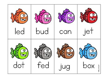 CVC game all short vowels!