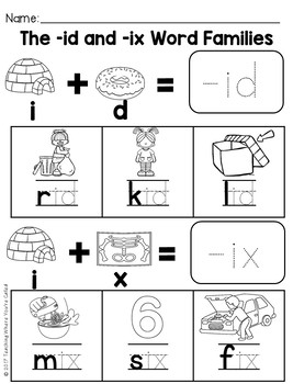cvc id and ix words by teaching where you re called tpt