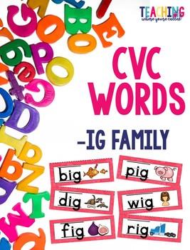 CVC -ig Words