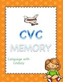 CVC memory game + probe