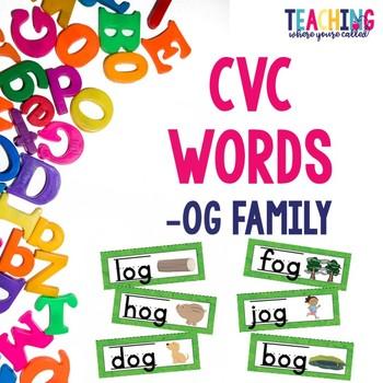 CVC -og Words