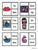 CVC or CVCE Clip Cards and Worksheet: Short and Long I