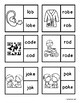 CVC or CVCE Clip Cards and Worksheet: Short and Long O