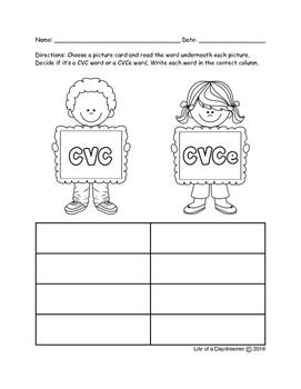 CVC or CVCe