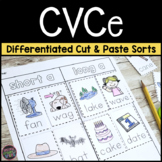 CVC or CVCe?  Differentiated Cut and Paste Word Sorts