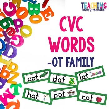 CVC -ot Words