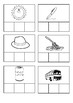 CVC peg clip cards - build words