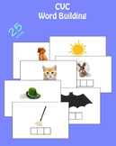 CVC pictures and word building