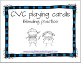 CVC playing cards for blending practice