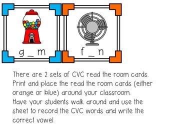 CVC read the room