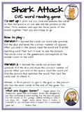 CVC reading board game