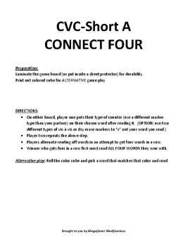 CVC short A- CONNECT FOUR