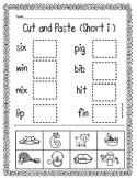 CVC (short i)- Cut and Paste