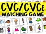 CVC to CVCe Words Matching Game