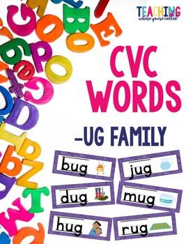 CVC -ug Words