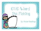 CVC word Ice Fishing Center