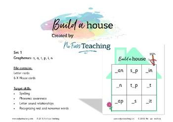 CVC word building - satpin