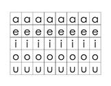 CVC word game based on Orton-Gillingham Kindergarten Scope
