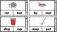 CVC word match with visuals