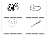 CVC word picture cards