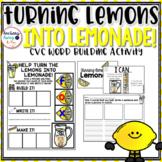 CVC words - Lemonade Themed