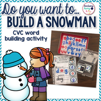CVC words - Snowmen Themed