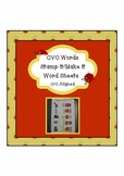 CVC words Stamp it/Make it Word Sheets ~ C/C Aligned
