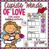 CVC words - Valentine's Day Themed