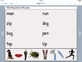 CVC words - iPad Book Creator