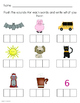 CVC words Worksheets, Volume 1 with Elconian boxes