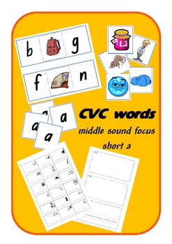 CVC words - short a