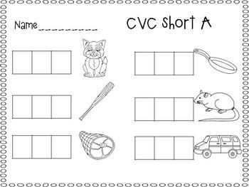 CVC write and sort