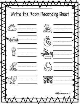 CVC write the room- short i