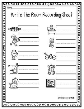 CVC write the room- short o