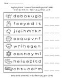 CVC writing {phonetic spelling}