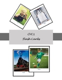 Apraxia Kit | Early Sounds: CVC Word Flash Cards with Reduplicated Consonant