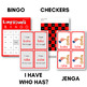 The Complete Long Vowels Game Pack - CVCV Bingo, Dominoes, and other Board Games