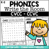 CVCC - CCVC Activities -  Write the Room and MORE