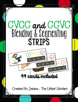 CVCC & CCVC Segmenting and Blending Strips