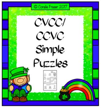 CVCC/CCVC Simple Puzzles