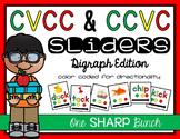 CVCC & CCVC Sliders {Phoneme Segmentation}