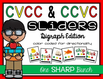 CVCC & CCVC Sliders {Phoneme Segmentation}