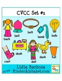 CVCC Mega Bundle Set- Clip Art for Teachers