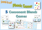 CVCC Phonic Games to Print and Play