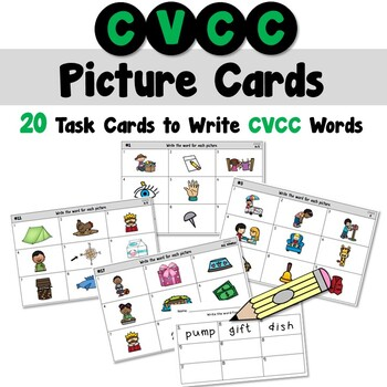 CVCC Picture Cards for a Writing Center