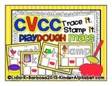CVCC Playdough Trace and Stamp Mats