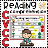 CVCC: Reading Comprehension with bingo dabbers (NO PREP)
