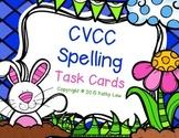 CVCC Spelling Task Cards