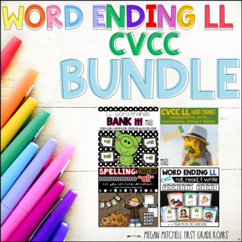 CVCC Word Ending LL BUNDLE