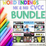 CVCC Word Ending NK and NG BUNDLE